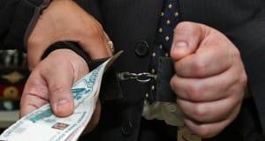 задержан за взятку