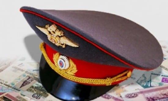 взятка полицейскому