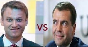 навальный против медведева
