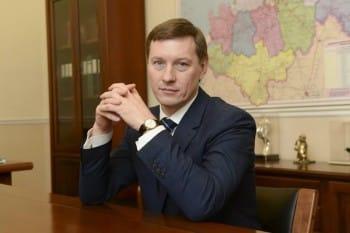 Вице-губернатор Ленинградской области Михаил Москвин