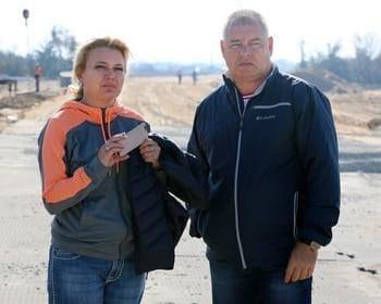 Лариса Щербула и Сергей Писарев