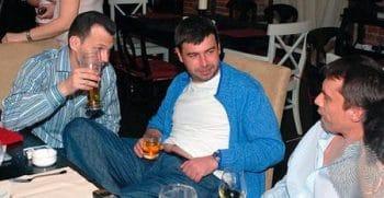 Сергей Менделеев, Борис Ушерович и Валерий Маркелов