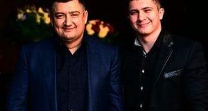 Дмитрий Ишаев (слева) с сыном Игорем