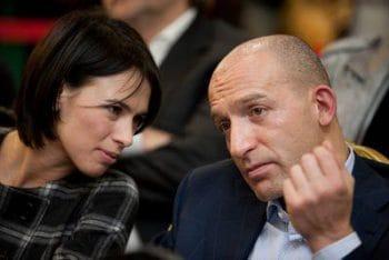 Александрина Маркво и Александр Сенаторов