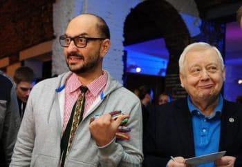Кирилл Серебренников (cлева) и Олег Табаков