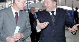 Сергей Локтев и Александр Карлин (справа)