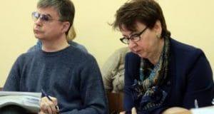 Владимир Поляков и Ирина Захарова