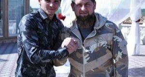 Хас-Магомед Кадыров (слева) и Рамзан Кадыров