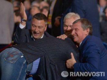 Игорь Сечин и Евтушенков