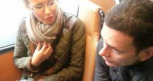Ксения Собчак проехалась на троллейбусе