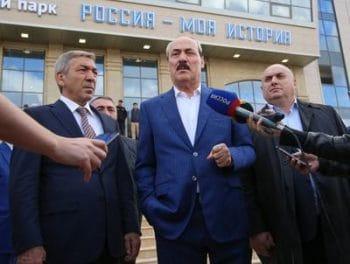 Абдусамад Гамидов, Рамазан Абдулатипов и Муса Мусаев