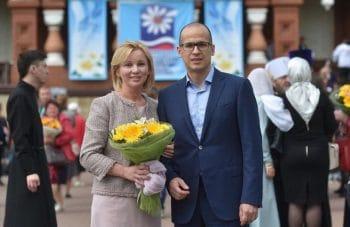 Бречалов с женой