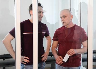 Андрей Мазко (справа) с сыном Андреем