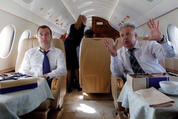 Ковер для Медведева